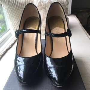 Cole Haan/ Nike Mary Jane Air black patent leather